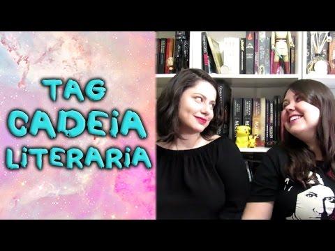 Tag Cadeia Literária - feat. Duda Klein!