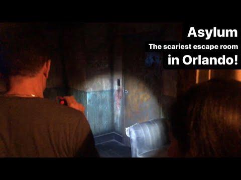 Asylum The scariest escape room in Orlando!