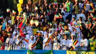 Ethiopian Support At The Dubai Marathon 2015