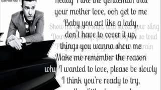 Justin Timberlake - Gimme What I Don't Want Know (I Want) (Lyrics On Screen) lyrics (German translation). | Sounds are calm, when we become the animals that were made in the jungle