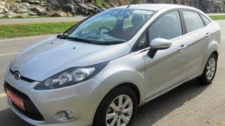 Ford Fiesta 2011 India Test Drive And Features Review- Petrol And Diesel