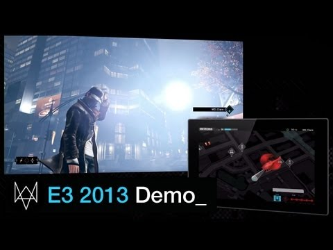 DEMO - Watch Aiden Pearce hack the city of Chicago to evade and take down his foes in the ALL NEW Watch Dogs E3 walkthough demo. Pre-order now: http://watchdogs.com/