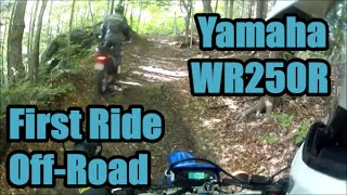 10. Yamaha WR250R First Off Road Ride, Test & Review