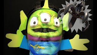 TOY STORY ALIEN MAKEUP TUTORIAL! by Kat Sketch