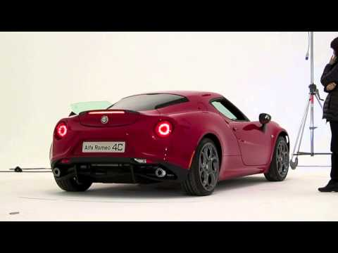 ALFA ROMEO 4C - Engine sound
