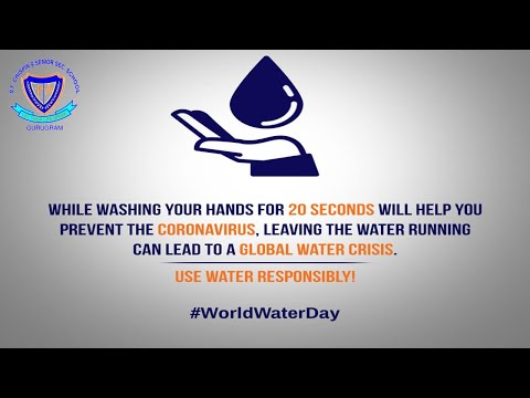 During this #Coronavirus outbreak, let's all remember to wash our hands for at least 20 seconds, but also not forget to close the tap when not needed. Use water responsibly and stay safe during this pandemic.