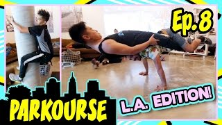 Video Parkourse in LA! (Ep.8) ft. D-trix & Jerel MP3, 3GP, MP4, WEBM, AVI, FLV September 2018