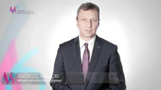 Minister Andrzej Halicki zaprasza na 6 Forum Rozwoju Mazowsza