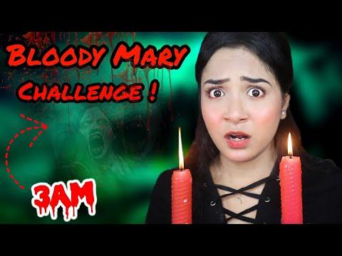 I did *BLOODY MARY* Challenge at 3 AM | *G0NE WR0NG* | Nilanjana Dhar
