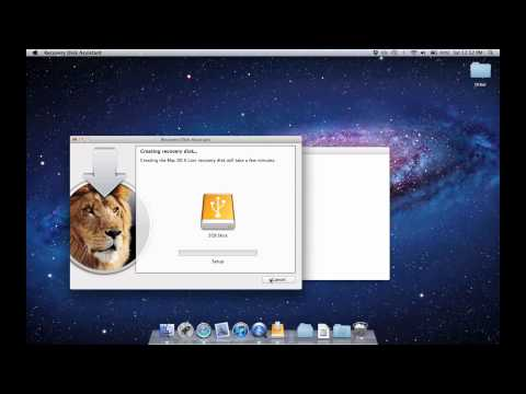 how to create os x recovery usb