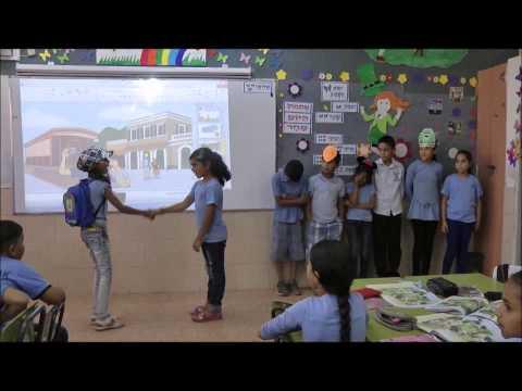 איצטבא - שיעור מצולם למורה ניבאל גאבר - בית ספר יסודי אבן סינא.