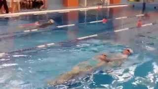 Соревнования по прикладному плаванию 2015 (видео №3)