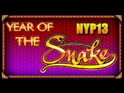 Ainsworth - Year of the Snake Slot Major Bonus WIN ♣NEW RELEASE♣
