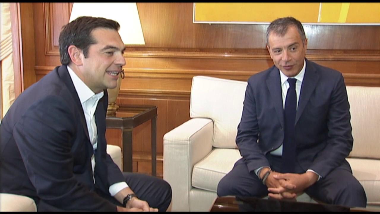 Συνάντηση με τον κ. Στ. Θεοδωράκη για την συμφωνία του Eurogroup και το Κυπριακό