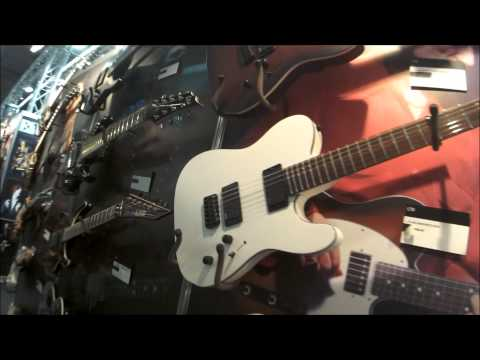 Musikmesse 2015 - ESP LTD guitars new models