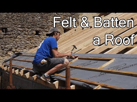 DIY ROOF: FINALLY WATERTIGHT