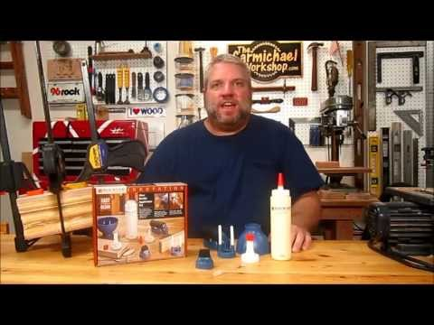Rockler Glue Applicator Set Unboxing: The Carmichael Workshop