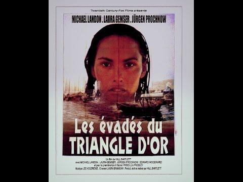 Les évadés du Triangle d'Or (3/4)  Michael Landon - Laura Gemser