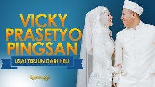 Video Terjun Dari Heli, Vicky Prasetyo Pingsan Saat Resepsi MP3, 3GP, MP4, WEBM, AVI, FLV Februari 2018