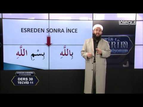 Kur'an-ı Kerim Öğreniyorum (Bölüm 30) Lâlegül TV
