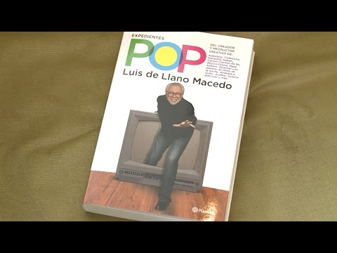 Luis de Llano revela sus Expedientes pop
