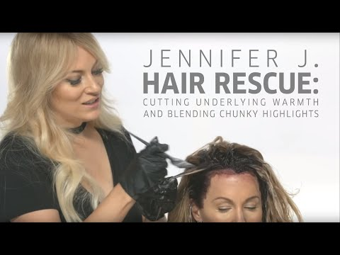 Hair cutting - How-To: Cut Underlying Warmth and Blend Highlights