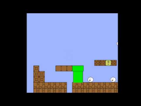 Cat Mario Epic Fail