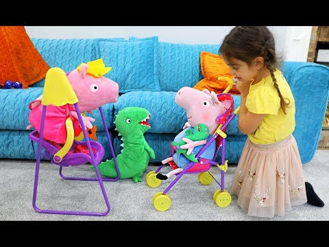 Peppa Pig Play and Go Travel Set