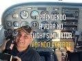 Aprendendo A Voar No Flight Simulator Voando Por Adf