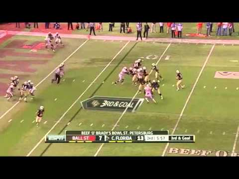 Blake Bortles vs Ball St. 2012 video.