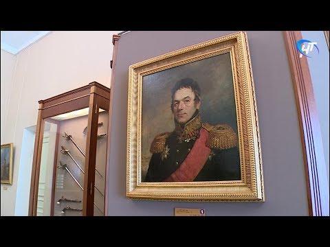 В музее изобразительных искусств начала работу мини-выставка портретов