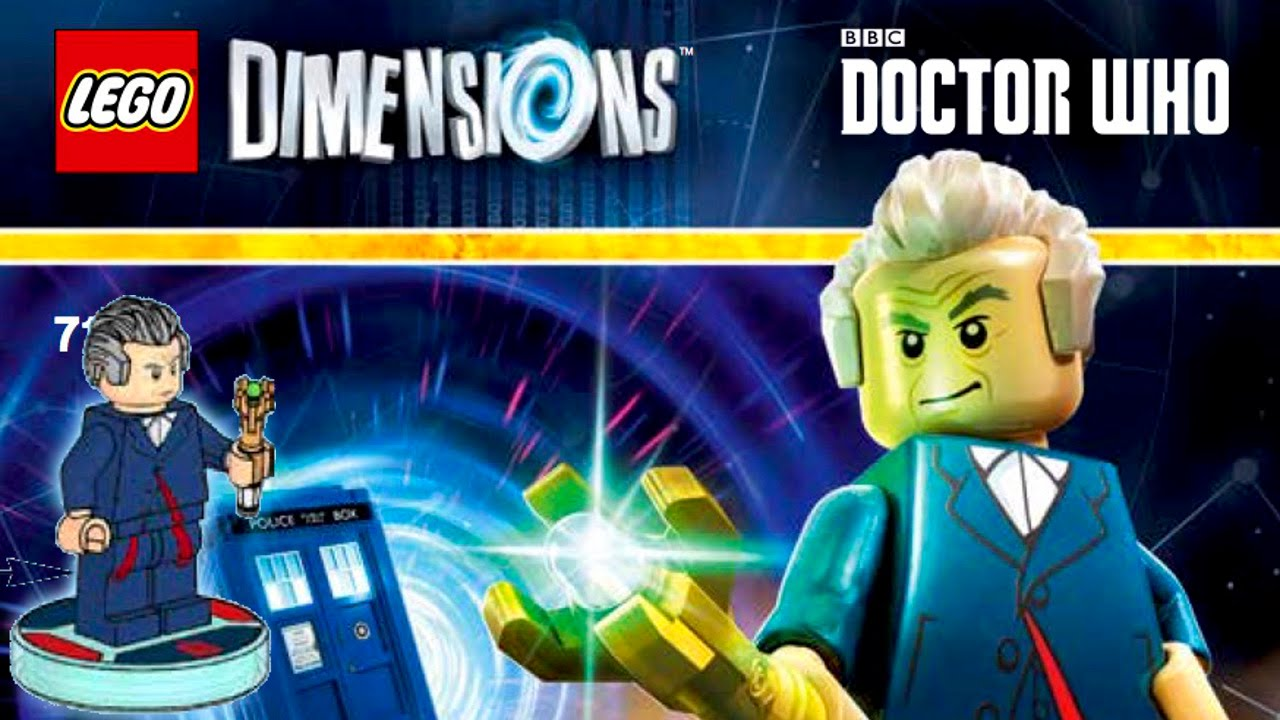 Doctor Who Among New LEGO Dimensions Range for WiiU