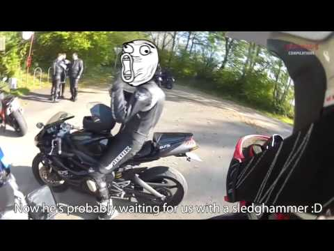 Bikers FIGHT Angry people - road rage - #28