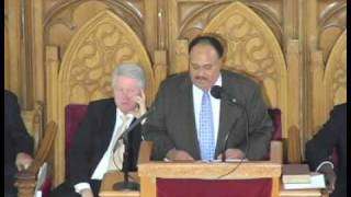 Bill Clinton Falls Asleep During Martin Luther King Speech