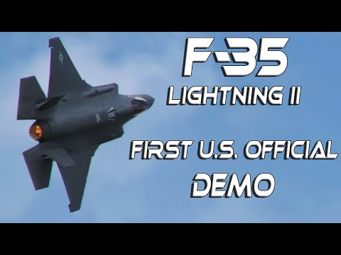 F35  RIAT2018  4K UHD F-35A Lightning II Fantastic Aggressive Flown Display.
