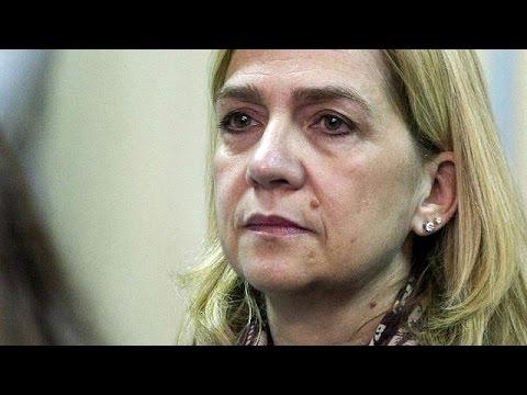 Αθώα η αδελφή του βασιλιά της Ισπανίας – Έξι χρόνια κάθειρξη για το σύζυγό της