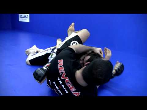 Gegard Mousasi Teaches How To Triangle Choke from Mount Submission