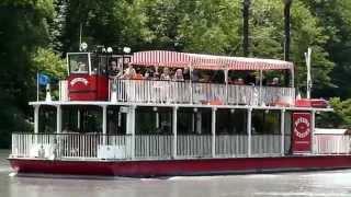 Oriol-en-Royans France  city pictures gallery : Le bateau à roue Royans Vercors et le jardin aux fontaines pétrifiantes