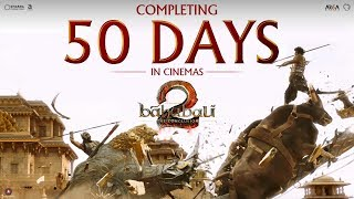 It's a a spirit that you can't kill, it's the fire that you can't put out - it's the cinemas that never dies. Baahubali 2 - The Conclusion completes 50 days in cinemas and continues to win hearts all over the world with it's sheer brilliance. Presented by Karan Johar & AA FilmsDirected by S.S. RajamouliBaahubali 2 stars Prabhas, Rana Daggubati & Anushka Shetty.Join the conversation - #Baahubali2Subscribe for Regular Updateshttp://goo.gl/tBtxttLike us on http://www.facebook.com/DharmaMoviesFollow us onhttp://www.twitter.com/DharmaMovieshttps://www.instagram.com/dharmamoviesCircle us on Google+https://plus.google.com/+DharmaMovies