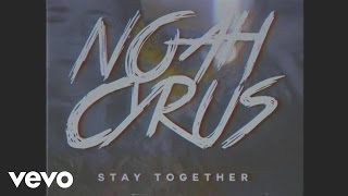 Noah Cyrus 'Stay Together' Official Lyric VideoListen and follow Noah Cyrus belowListen on Spotify http://smarturl.it/NC-ST-SListen on Apple Music http://smarturl.it/NC-ST-AM Buy on iTunes http://smarturl.it/NC-ST-iT Noah's Instagram http://smarturl.it/NoahCyrusIGNoah's Facebook http://smarturl.it/NoahCyrusFB Noah's Twitter http://smarturl.it/NoahCyrusTwLYRICSI drank straight to my headI went outside to smoke a cigaretteAnd I shattered my phone on the cementBut I don't give a fuckNow I'm not making senseI'm laughing at a joke that I don't getI'm acting like these strangers are my friendsBut I don't give a fuckYelling at the DJBro your shit is boringDoing things that I will not regret until the morningImma make it rain downAnother round is on meI'm just here for fun and I don't care about the moneyOh oh oh ohNothing lasts foreverBut wouldn't it be nice to stay together for the nightOh oh ohWe can do whateverAs long as we're together then we're gonna be alrightDon't leave, just waitYou can tell your friends that you're staying out lateSingingOh oh oh ohNothing lasts foreverBut wouldn't it be nice to stay together for the nightAlright alright finish your G and TThe Uber's here so now it's time to leaveHey driver, could you pass the aux to meGo ahead and turn it upHead out of the windowYou could call me shamelessWaving to my people now I'm acting like I'm famousTell him take the long wayWe could see the sunriseDamn you look so pretty when that sunlight hits your blue eyesOh oh oh ohNothing lasts foreverBut wouldn't it be nice to stay together for the nightOh oh ohWe can do whateverAs long as we're together then we're gonna be alrightDon't leave, just waitYou can tell your friends that you're staying out lateSinging oh oh oh ohNothing lasts foreverBut wouldn't it be nice to stay together for the night(For the night, for the night)I drank straight to my headI went outside to smoke a cigaretteAnd I shattered my phone on the cementBut I don't give a fuckOh oh oh ohNothing l