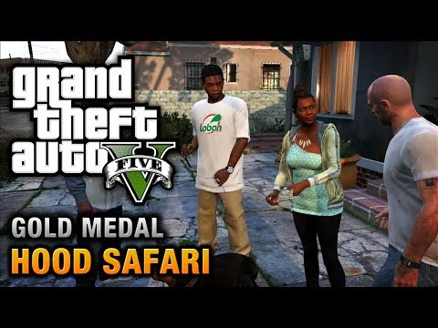 hood - Grand Theft Auto V 100% Gold Medal Walkthrough \ Guide in HD GTA V Missions Walkthrough Playlist: http://www.youtube.com/playlist?list=PLQ3KzJPBsAHnNmaulPFn2...