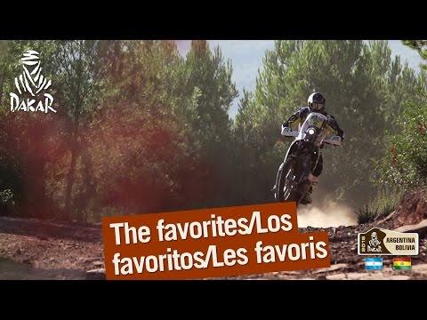 The Favorites Dakar 2016
