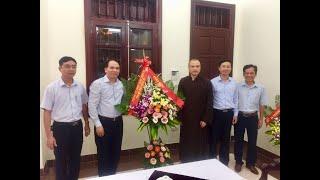 Bí thư Thành ủy Trần Văn Lâm chúc mừng Đại lễ Phật đản