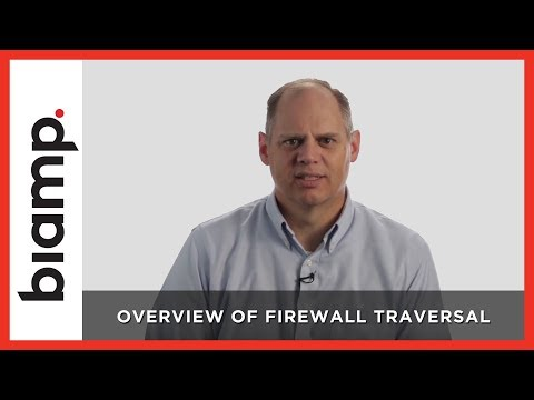 Biamp: Overview of Firewall Traversal