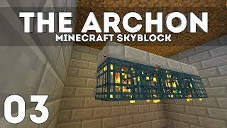 •The Archon Skyblock - Ep. 3: MOBCOIN GRINDER! (Minecraft 1.13.2)•