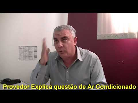 Jales - Provedor da Santa Casa e equipe se justificam o porque o ar condicionado não pode ser usado em todo o Hospital.