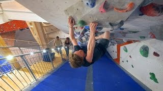 Nikken Is Grasping For Air And Climbing In The Tunnel! by Eric Karlsson Bouldering