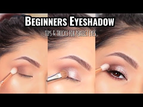 HOW TO APPLY EYESHADOW FOR BEGINNERS : MUST SEE!
