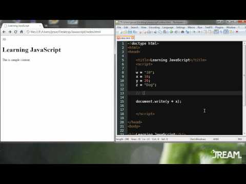 Learn JavaScript – Quick Start!