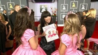 Exclusive! Sophia Grace & Rosie Bonus Grammy Footage! full download video download mp3 download music download